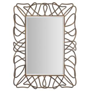 Uttermost Mirrors Halsey Gold Metal Mirror