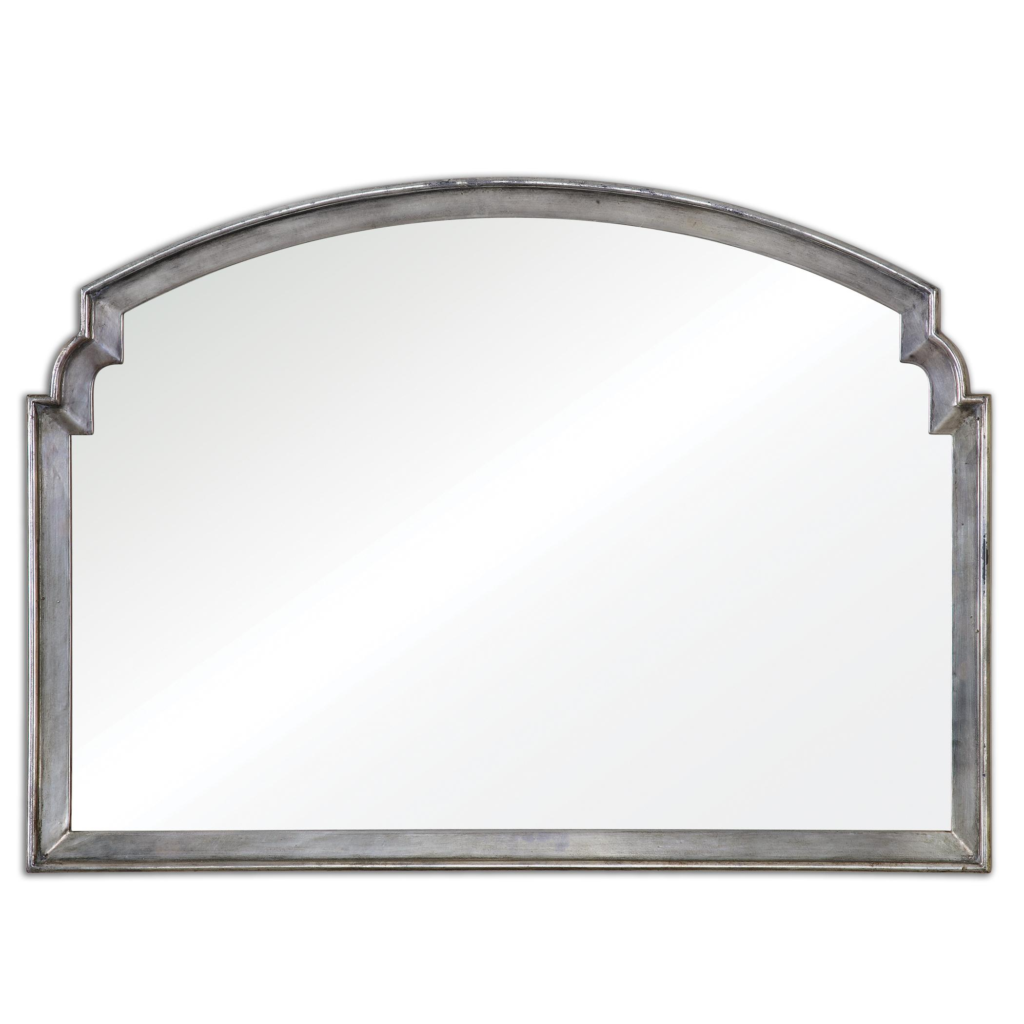 Uttermost Mirrors Via Della Silver Mirror - Item Number: 12880