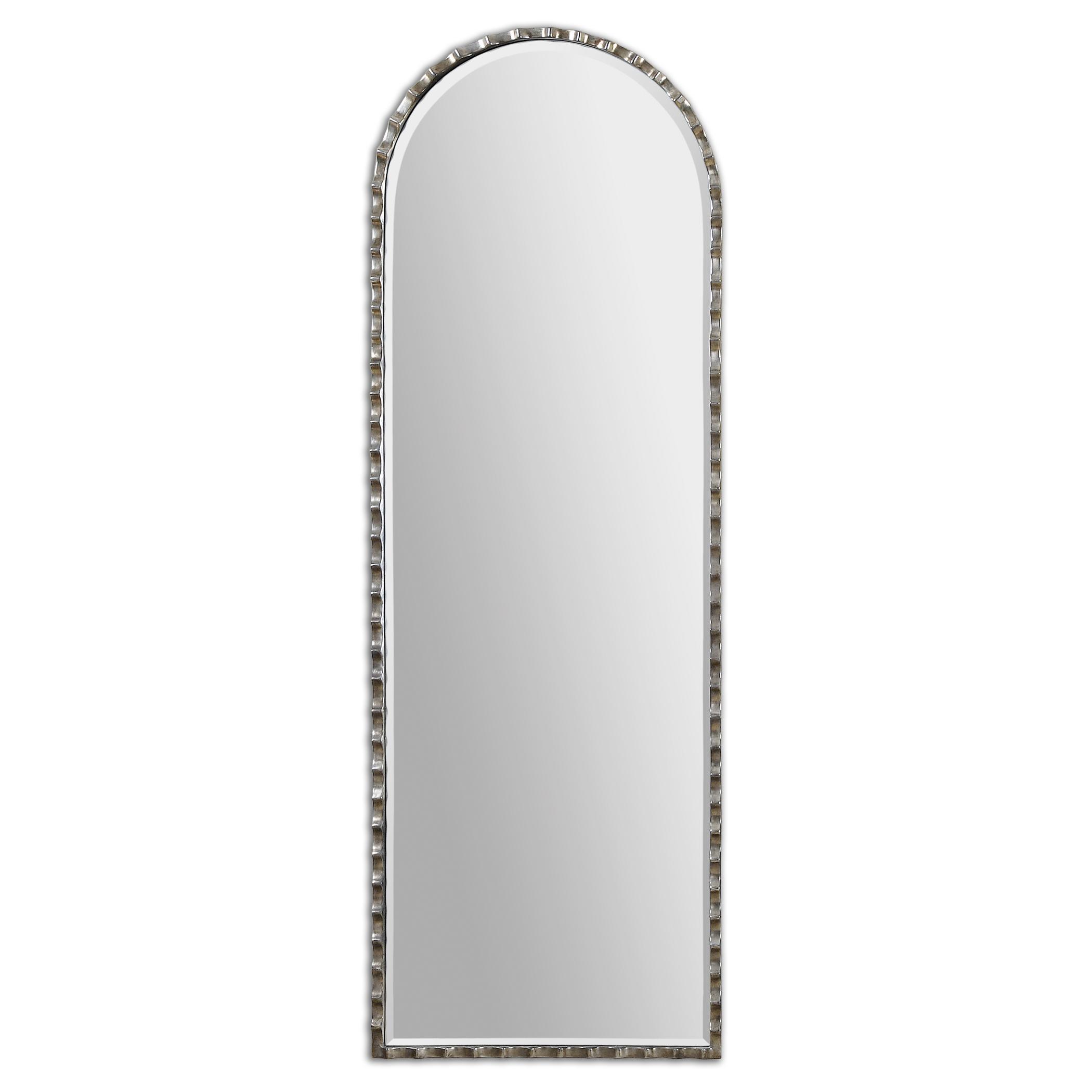 Uttermost Mirrors Gelston Arch Silver Mirror - Item Number: 12881
