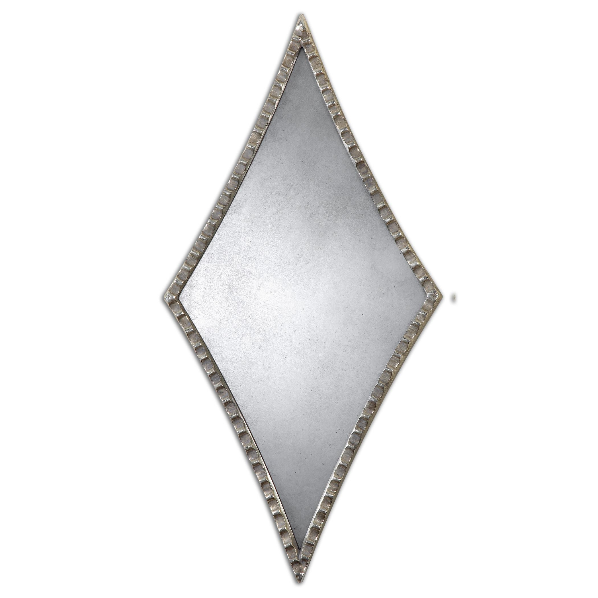 Uttermost Mirrors Gelston Silver Mirror - Item Number: 12882