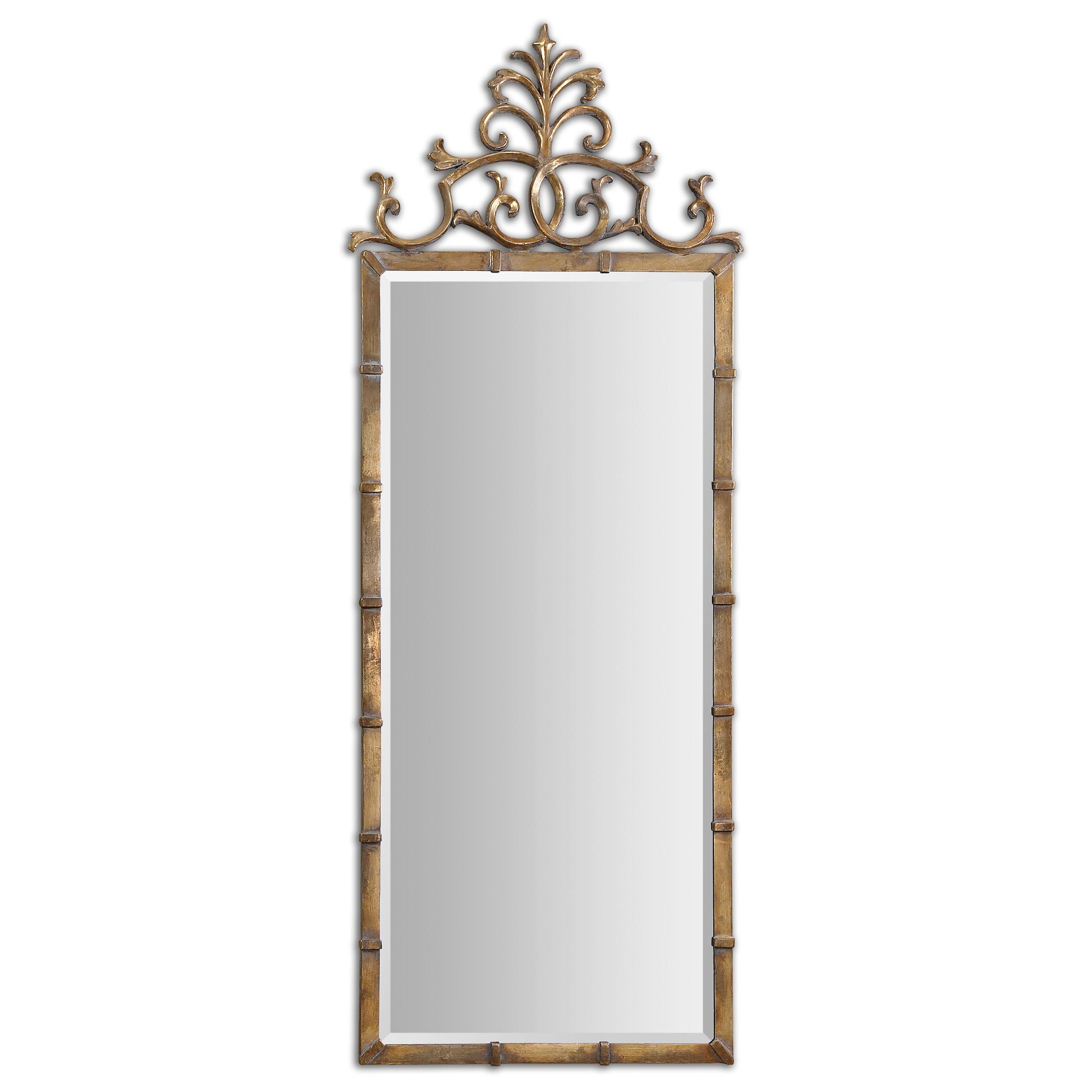 Uttermost Mirrors Vittoria Gold Metal Mirror - Item Number: 12884