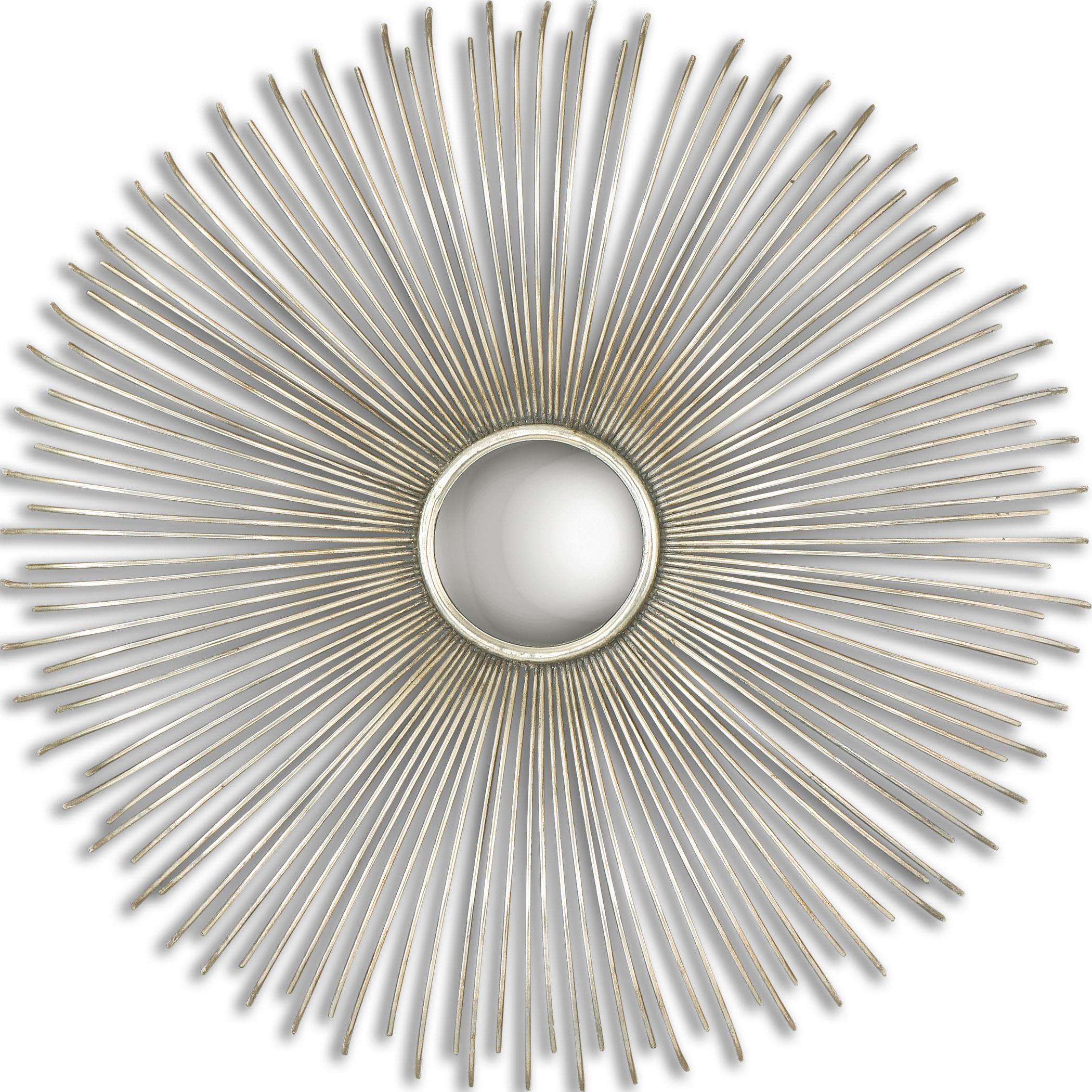 Uttermost Mirrors Launa Round Silver Mirror - Item Number: 12888