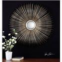 Uttermost Mirrors Launa Round Silver Mirror