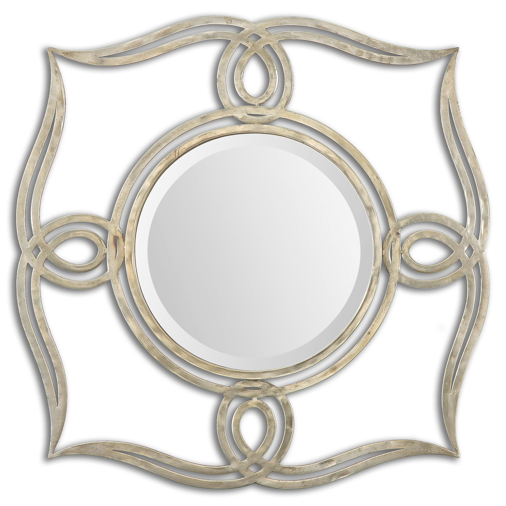 Uttermost Mirrors Helena Silver Mirror - Item Number: 12889