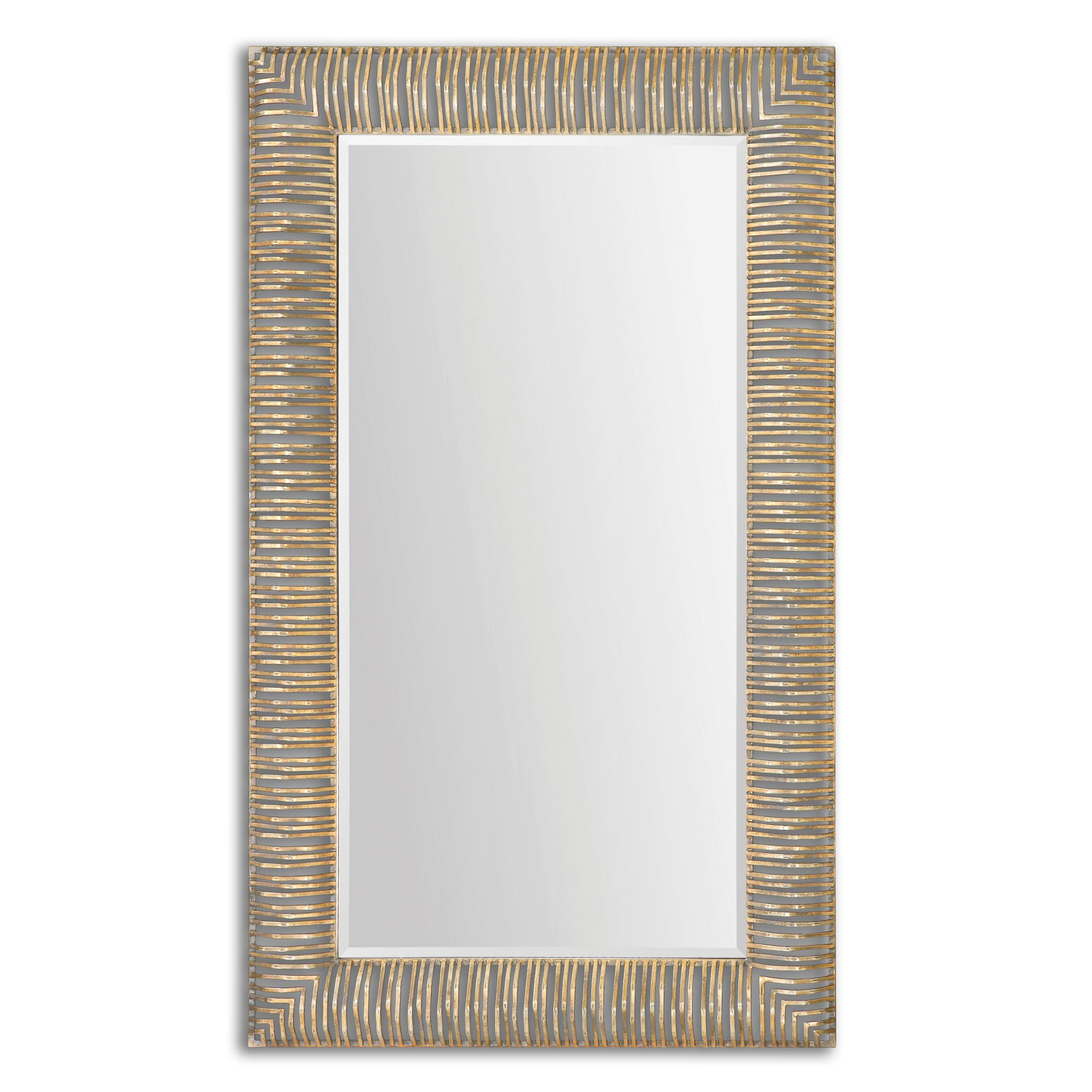 Uttermost Mirrors Aldric Oversized Gold Mirror - Item Number: 12890