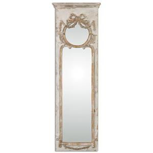 Uttermost Mirrors Casella Antiqued Ivory Wall Mirror
