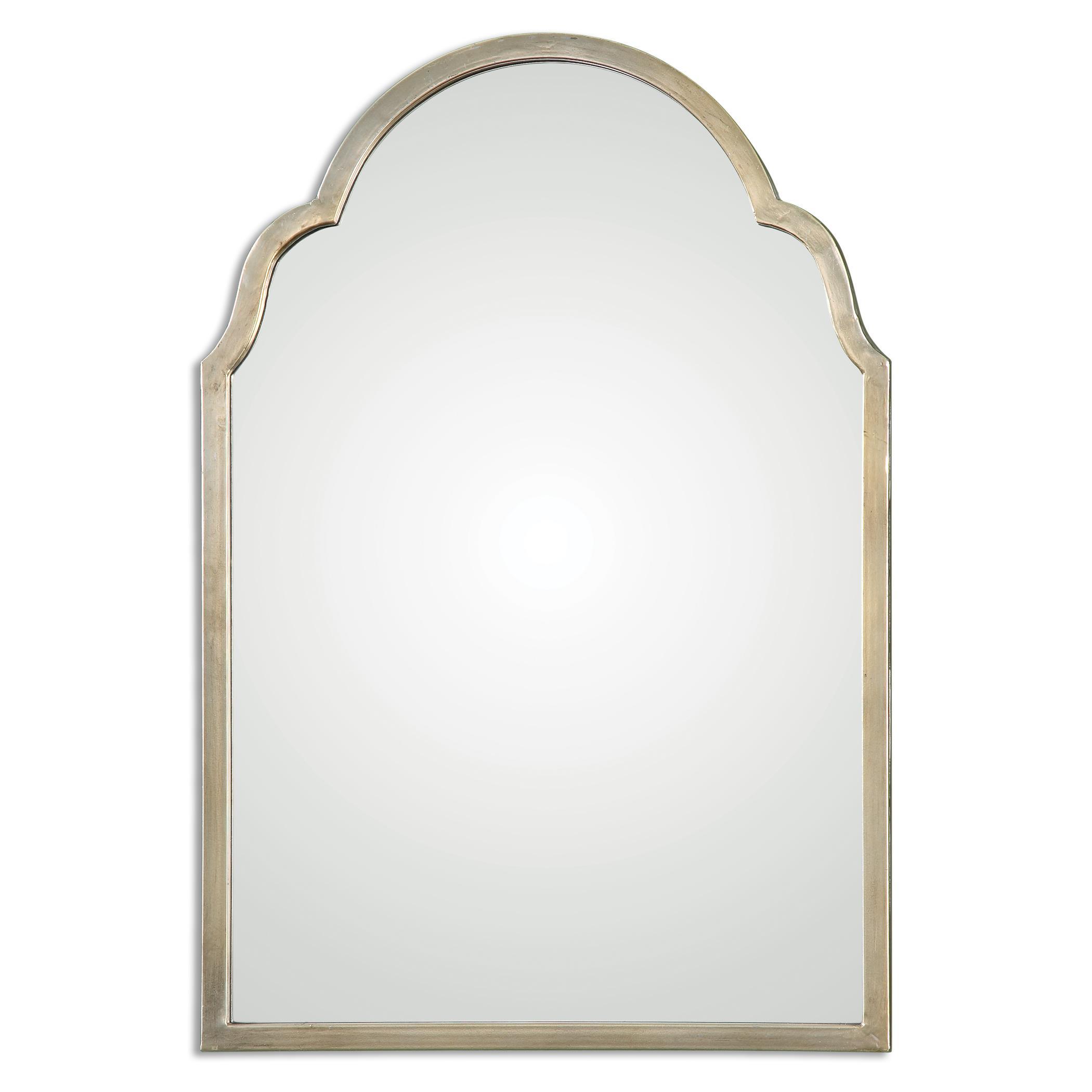 Uttermost Mirrors Brayden Petite Silver Arch Mirror - Item Number: 12906