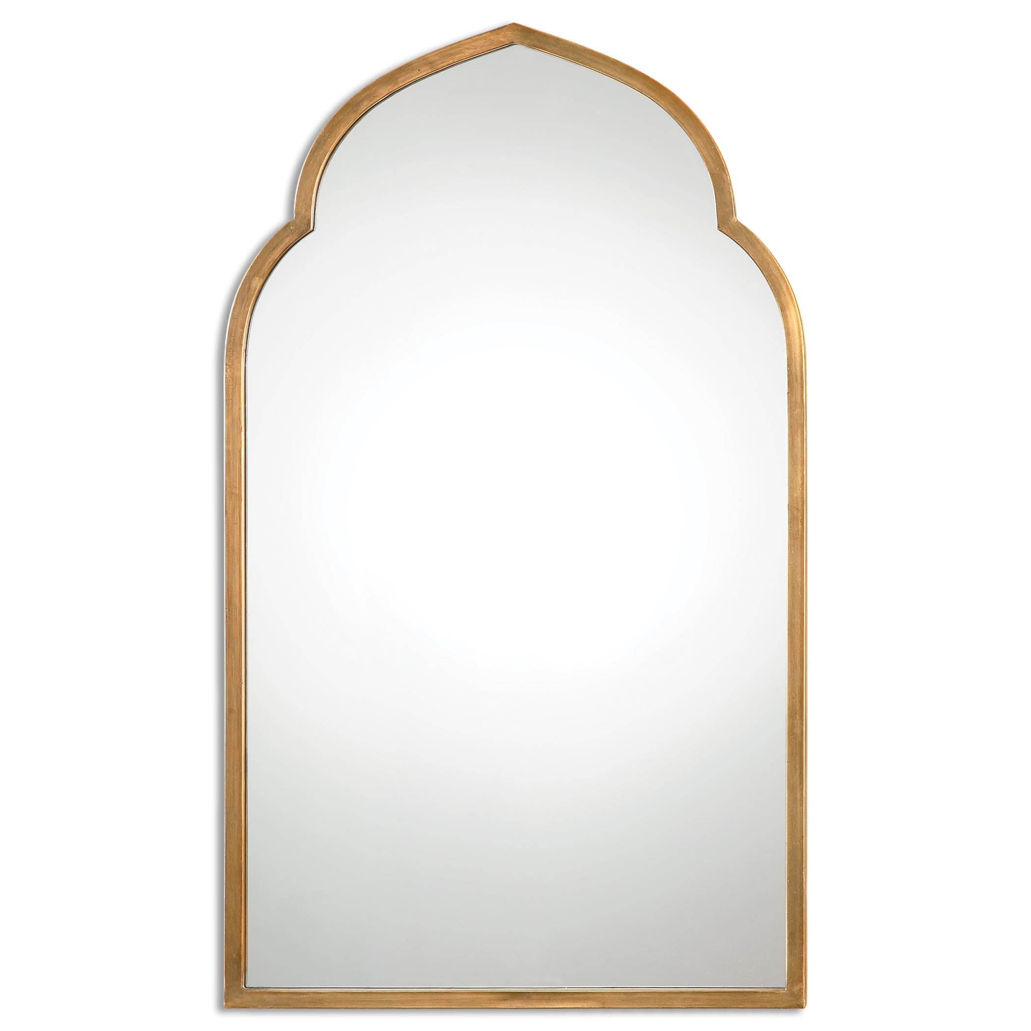 Uttermost Mirrors Kenitra Gold Arch Mirror - Item Number: 12907