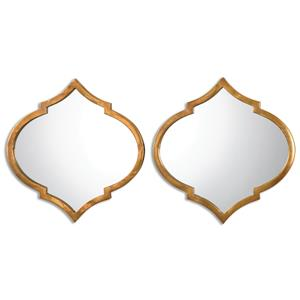 Uttermost Mirrors Jebel Antique Gold Mirrors, S/2