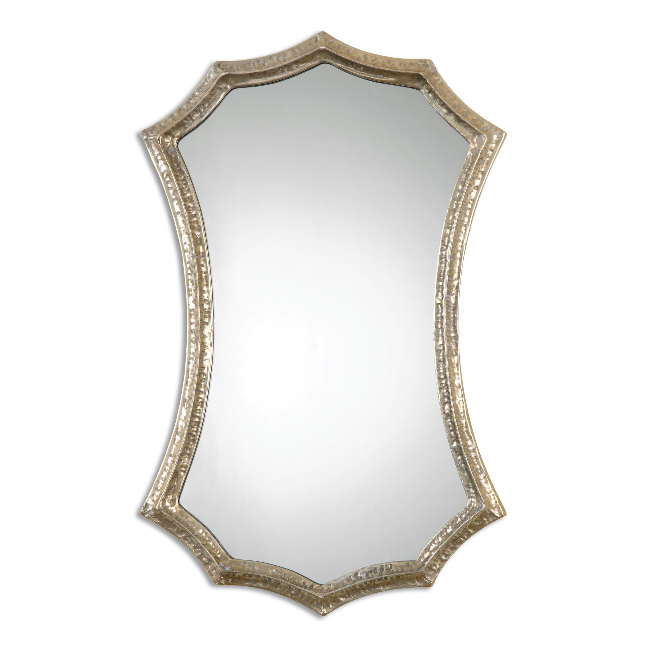 Uttermost Mirrors Mesdoura Silver Champagne Mirror - Item Number: 12911