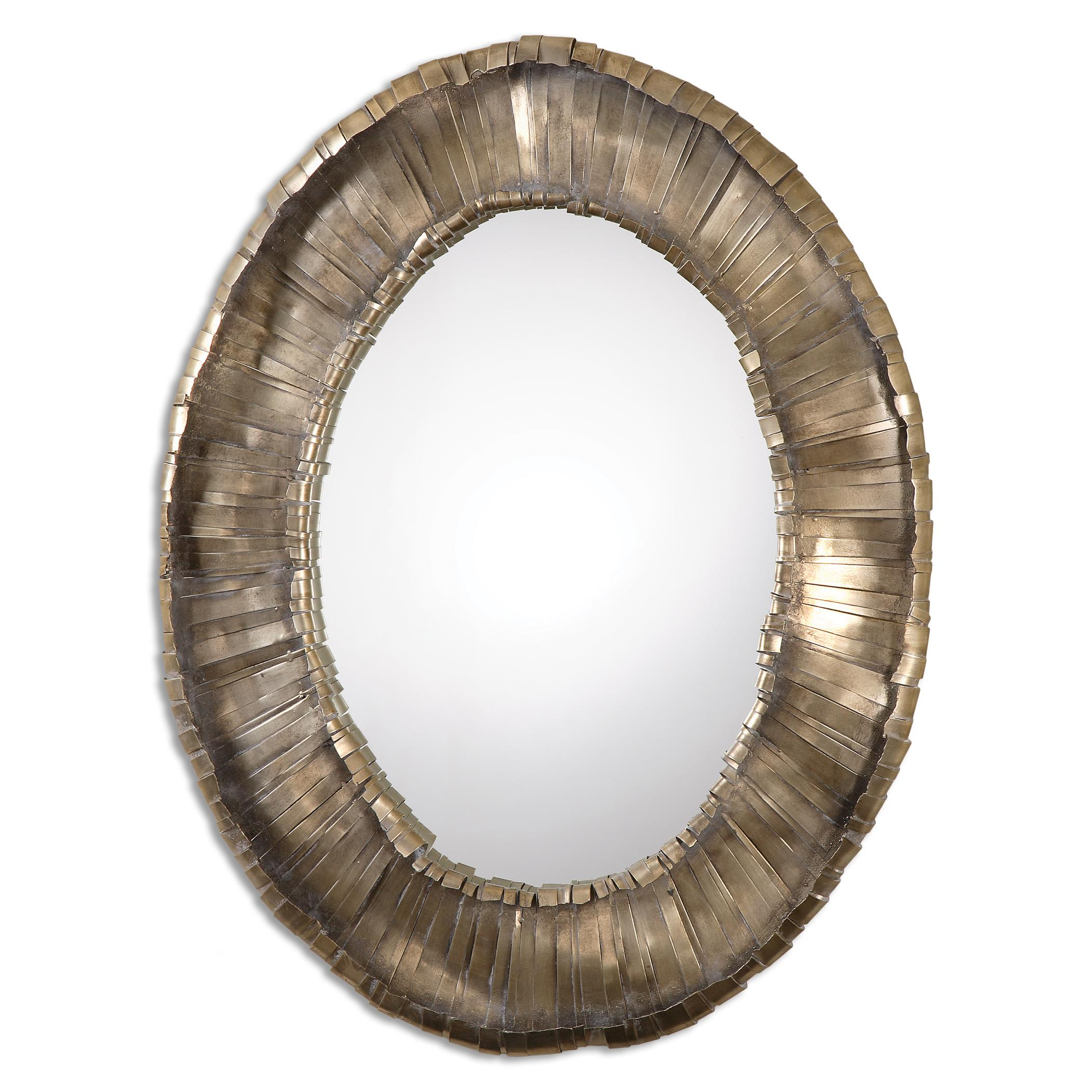 Uttermost Mirrors Vevila Oval Mirror - Item Number: 12914