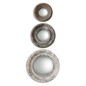 Uttermost Mirrors Adelfia Round Mirrors, S/3