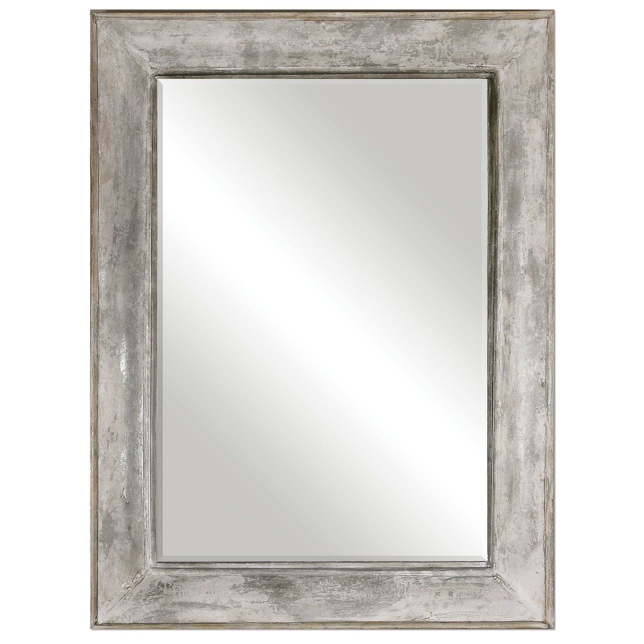 Uttermost Mirrors Morava Rust Aged Gray Mirror - Item Number: 12926