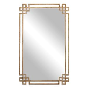 Uttermost Mirrors Devoll Antique Gold Mirror