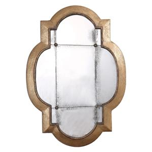Andorra Gold Leaf Mirror
