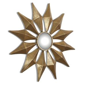 Uttermost Mirrors Navia Gold Starburst Mirror