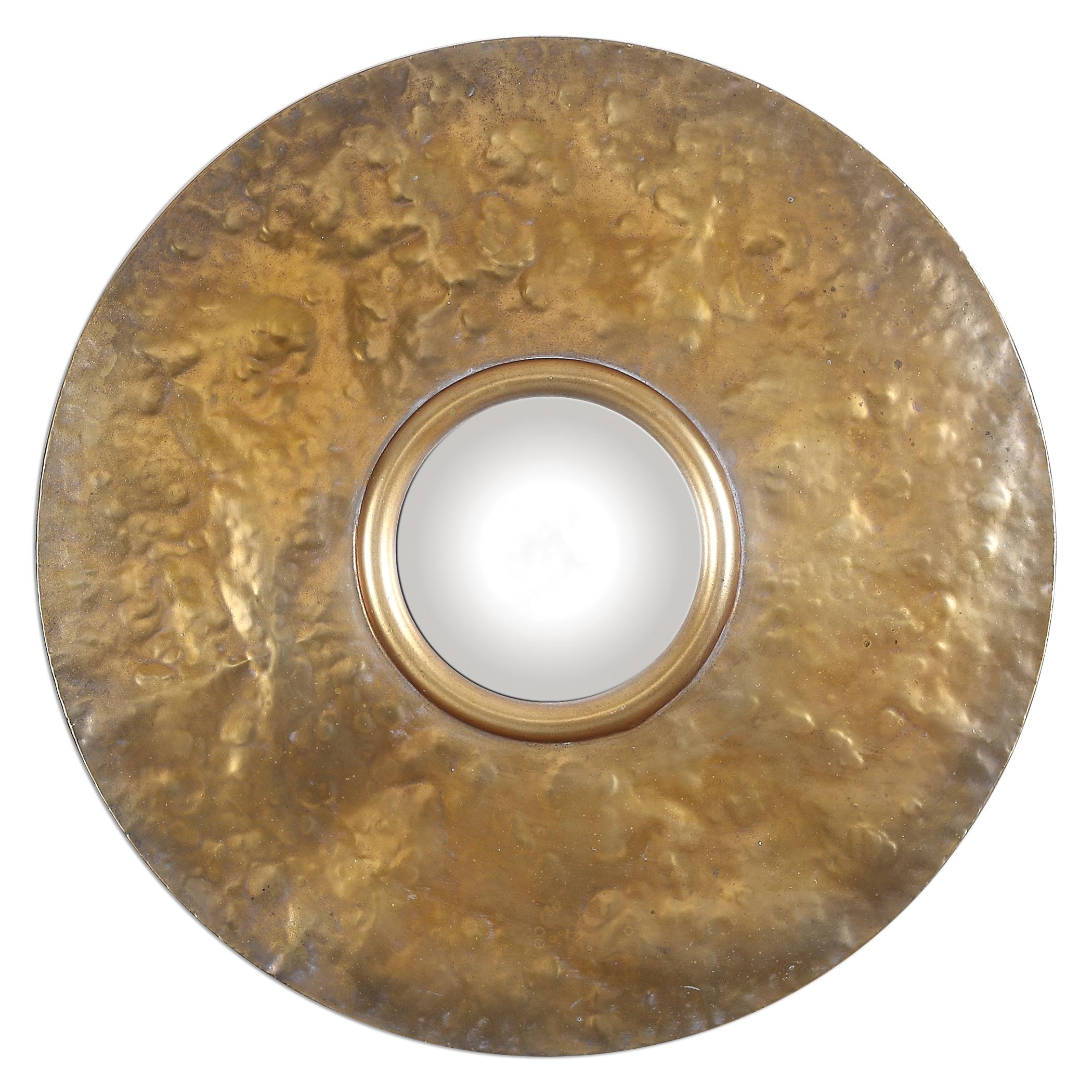 Uttermost Mirrors Nedonas Oxidized Gold Mirror - Item Number: 12936