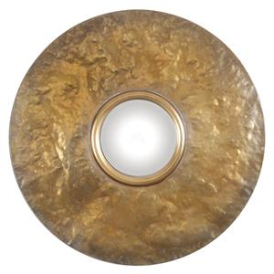 Uttermost Mirrors Nedonas Oxidized Gold Mirror