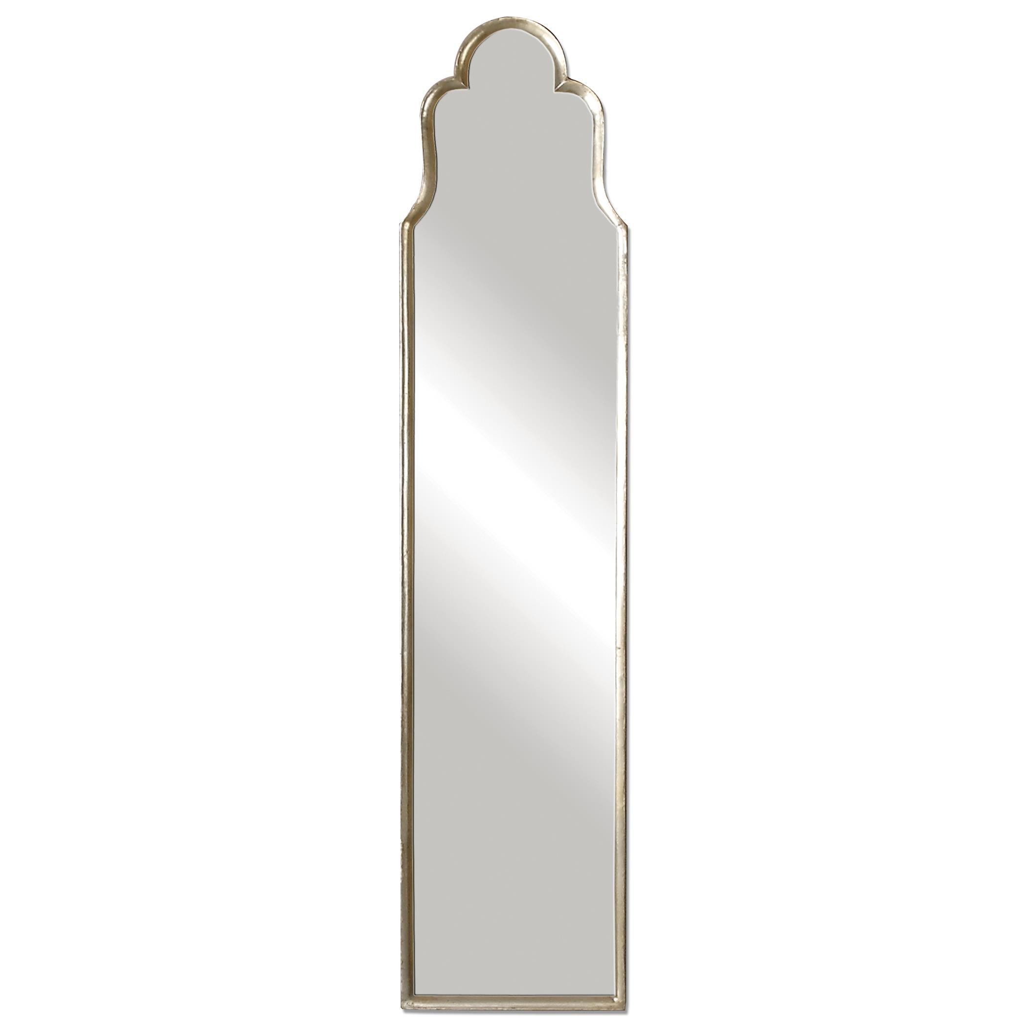 Uttermost Mirrors Cerano Arched Silver Mirror - Item Number: 12939