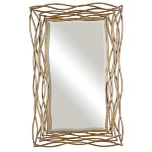 Uttermost Mirrors Tordera Oxidized Gold Mirror
