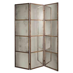 Uttermost Mirrors Avidan 3 Panel Screen