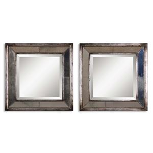Uttermost Mirrors Davion Squares Set of 2