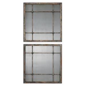 Saragano Square Mirrors Set of 2