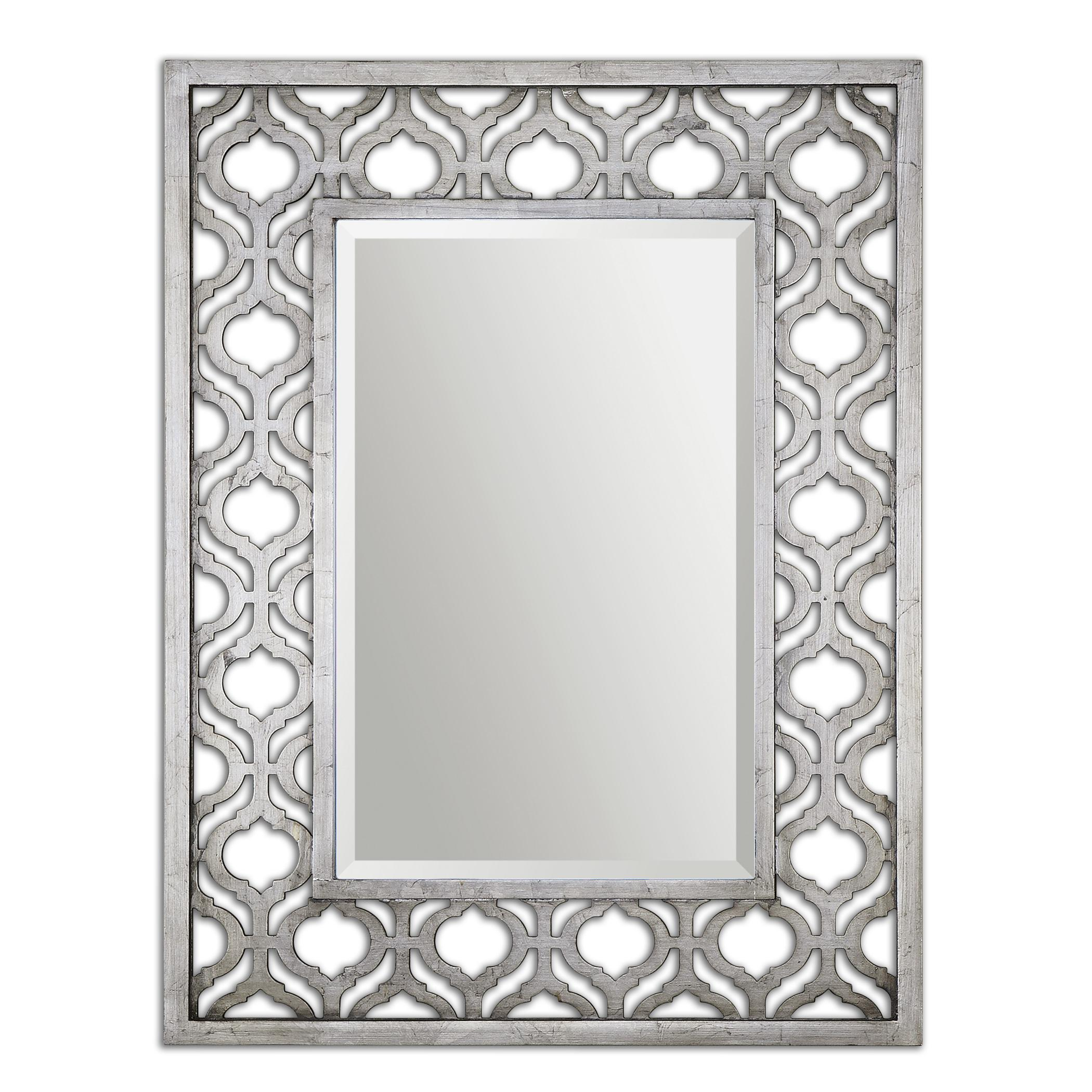 Uttermost Mirrors Sorbolo Silver Mirror - Item Number: 13863