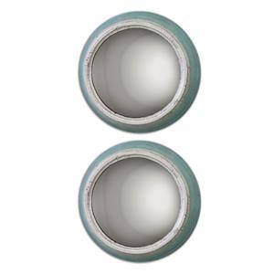 Uttermost Mirrors Fanchon Round Mirrors Set of 2