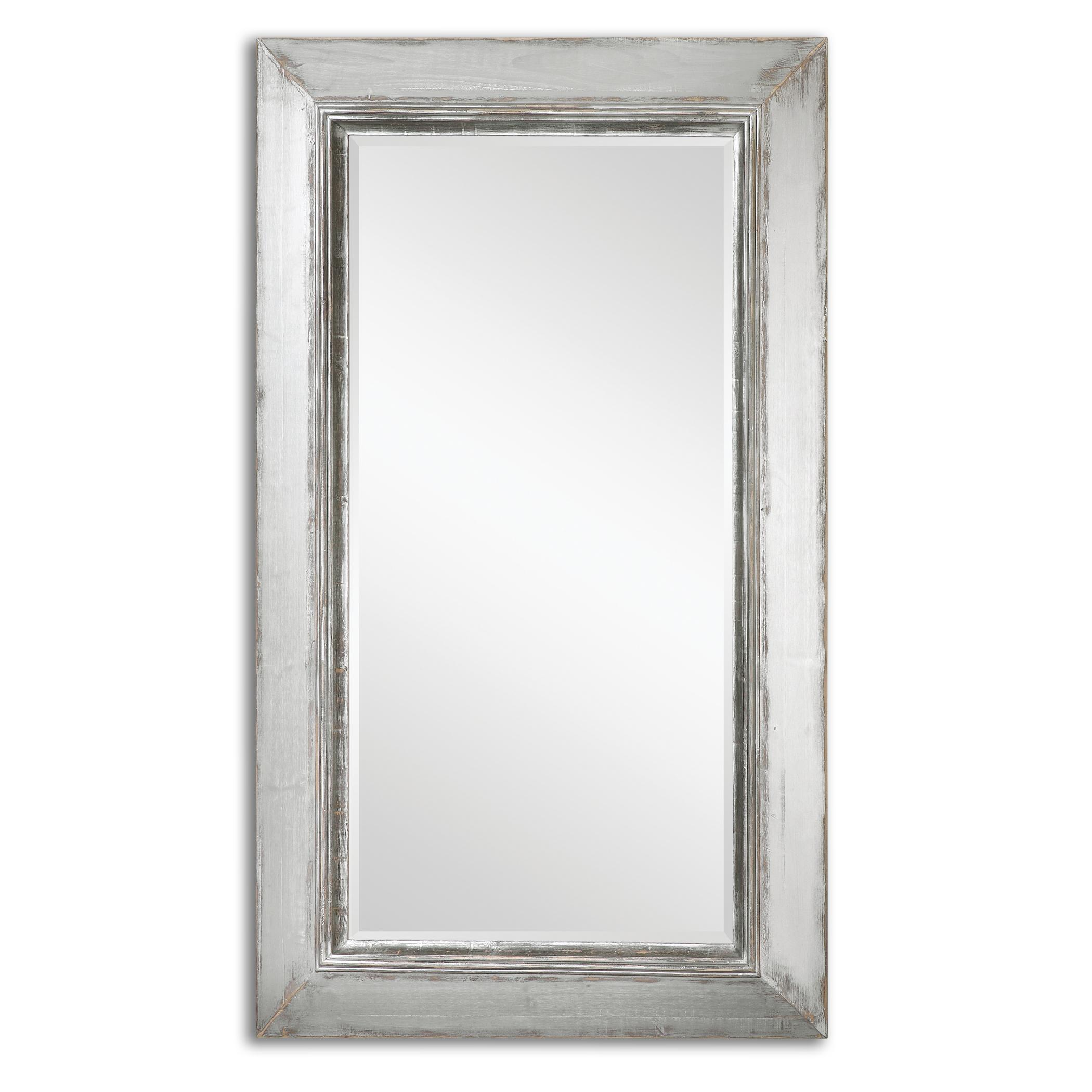 Uttermost Mirrors Lucanus Oversized Silver Mirror - Item Number: 13880
