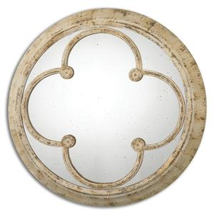 Livianus Round Metal Mirror