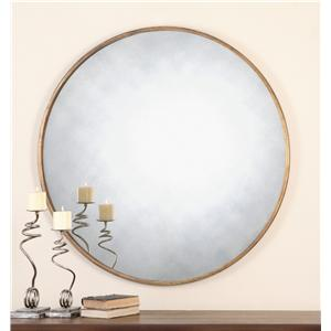 Uttermost Mirrors Junius Round Gold Mirror