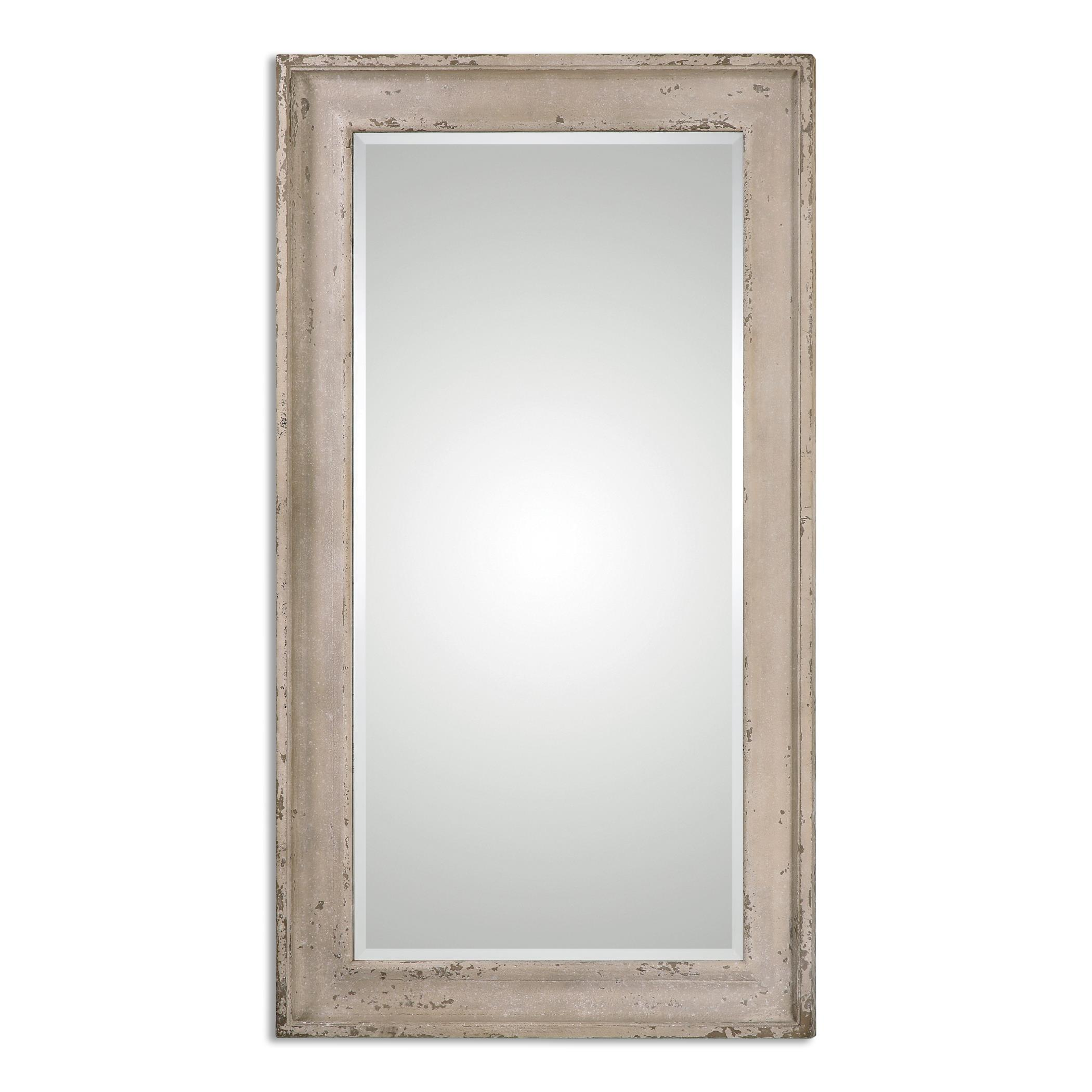 Uttermost Mirrors Alano Antiqued Leaner Mirror - Item Number: 13908