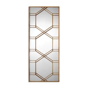 Kennis Gold Leaf Leaner Mirror