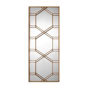 Uttermost Mirrors Kennis Gold Leaf Leaner Mirror