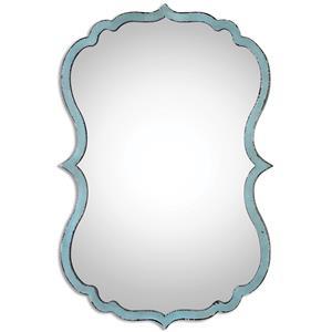 Uttermost Mirrors Nicola Light Blue Mirror