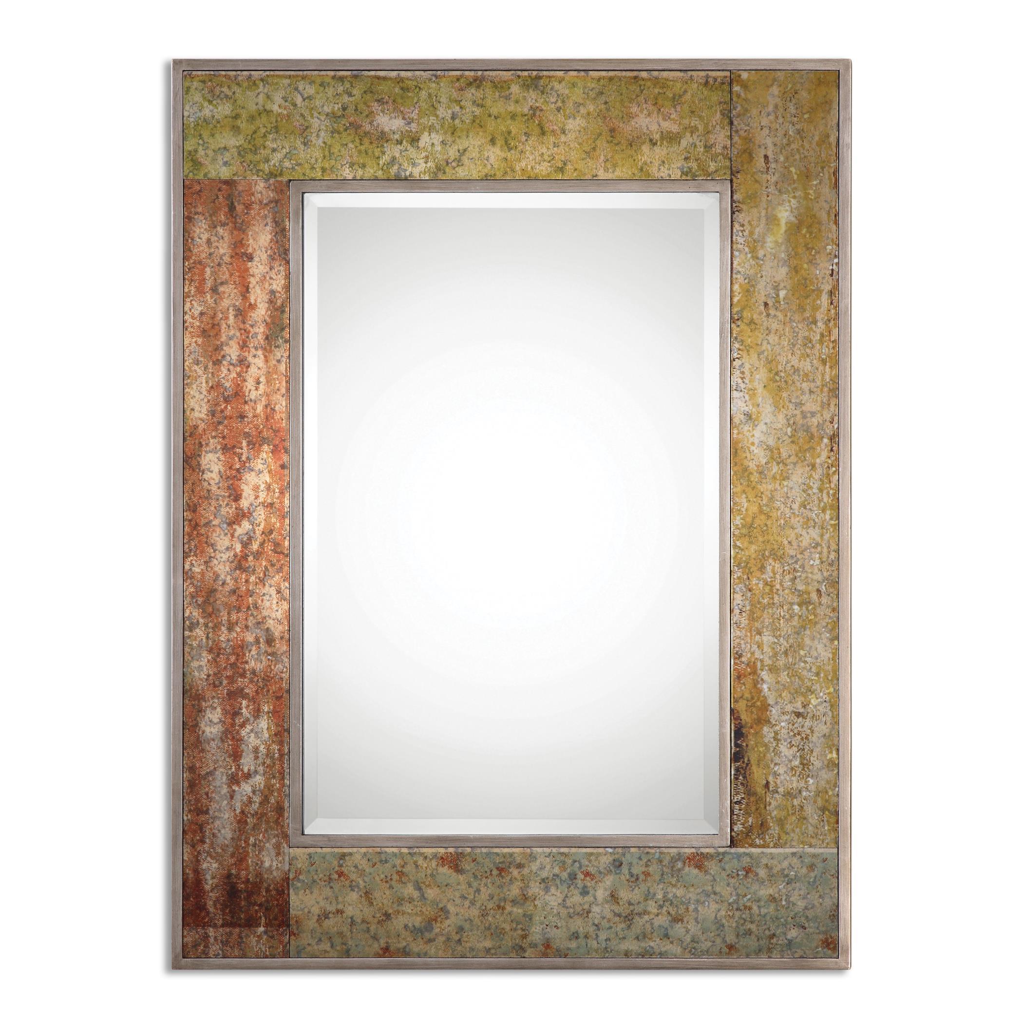 Uttermost Mirrors Romy Rust Mirror - Item Number: 13929