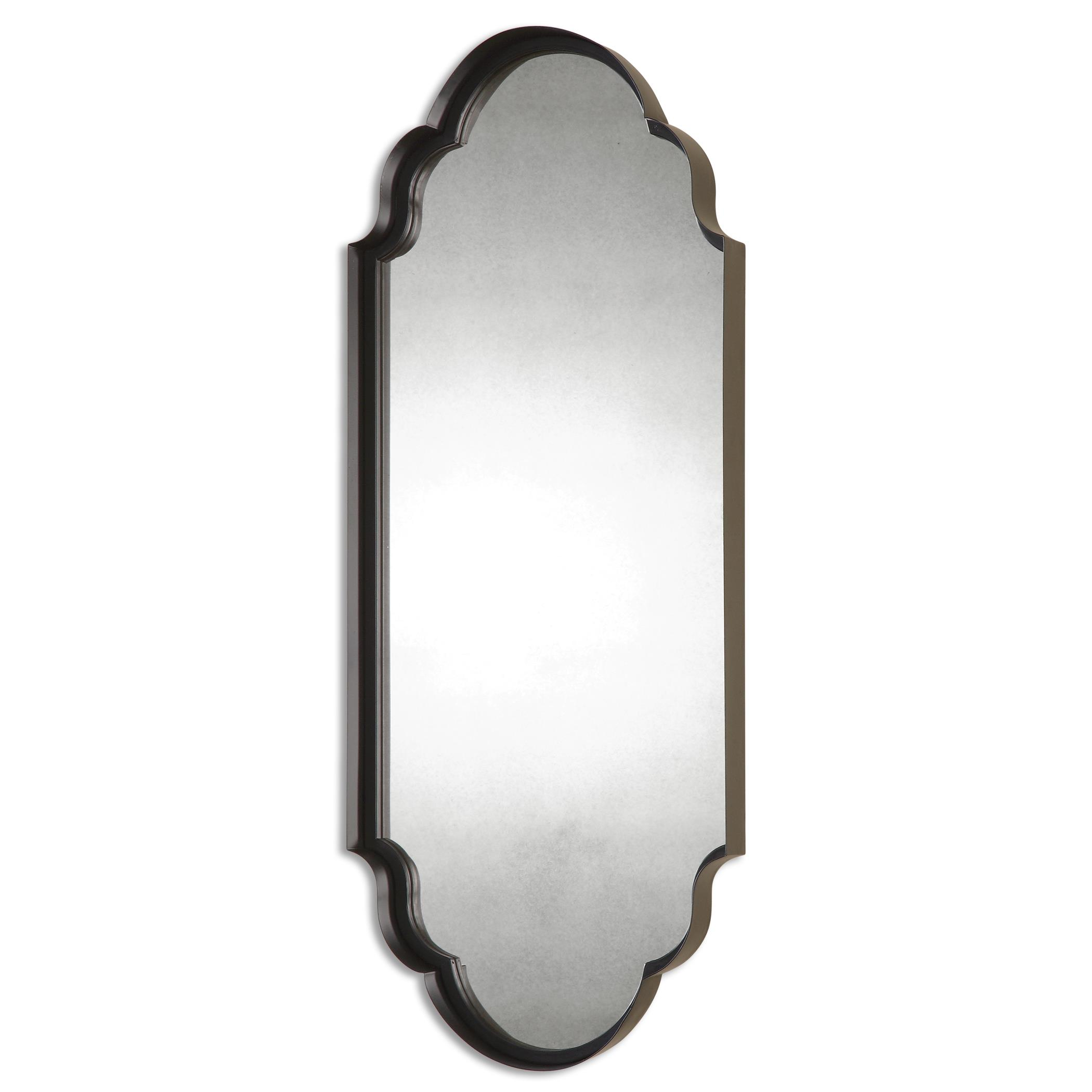 Uttermost Mirrors Lamia Curved Metal Mirror - Item Number: 13933