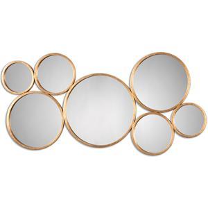 Uttermost Mirrors Kanna Gold Wall Mirror