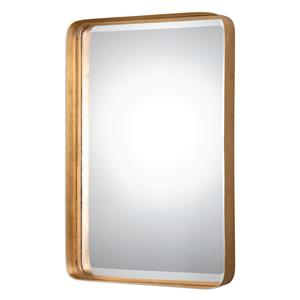 Uttermost Mirrors Crofton Antique Gold Mirror