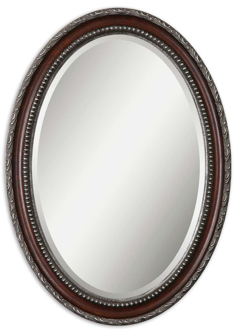 Uttermost Mirrors Montrose Oval - Item Number: 14196