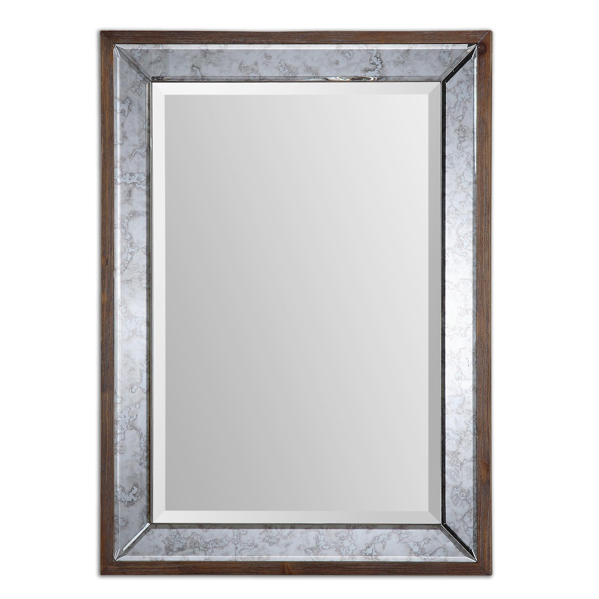 Uttermost Mirrors Daria Antique Framed Mirror - Item Number: 14487
