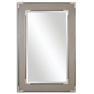 Alfred Oversized Gray-Tan Mirror