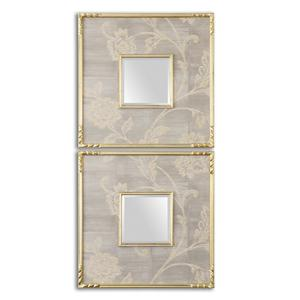 Uttermost Mirrors Evelyn Square Mirrors, Set of 2