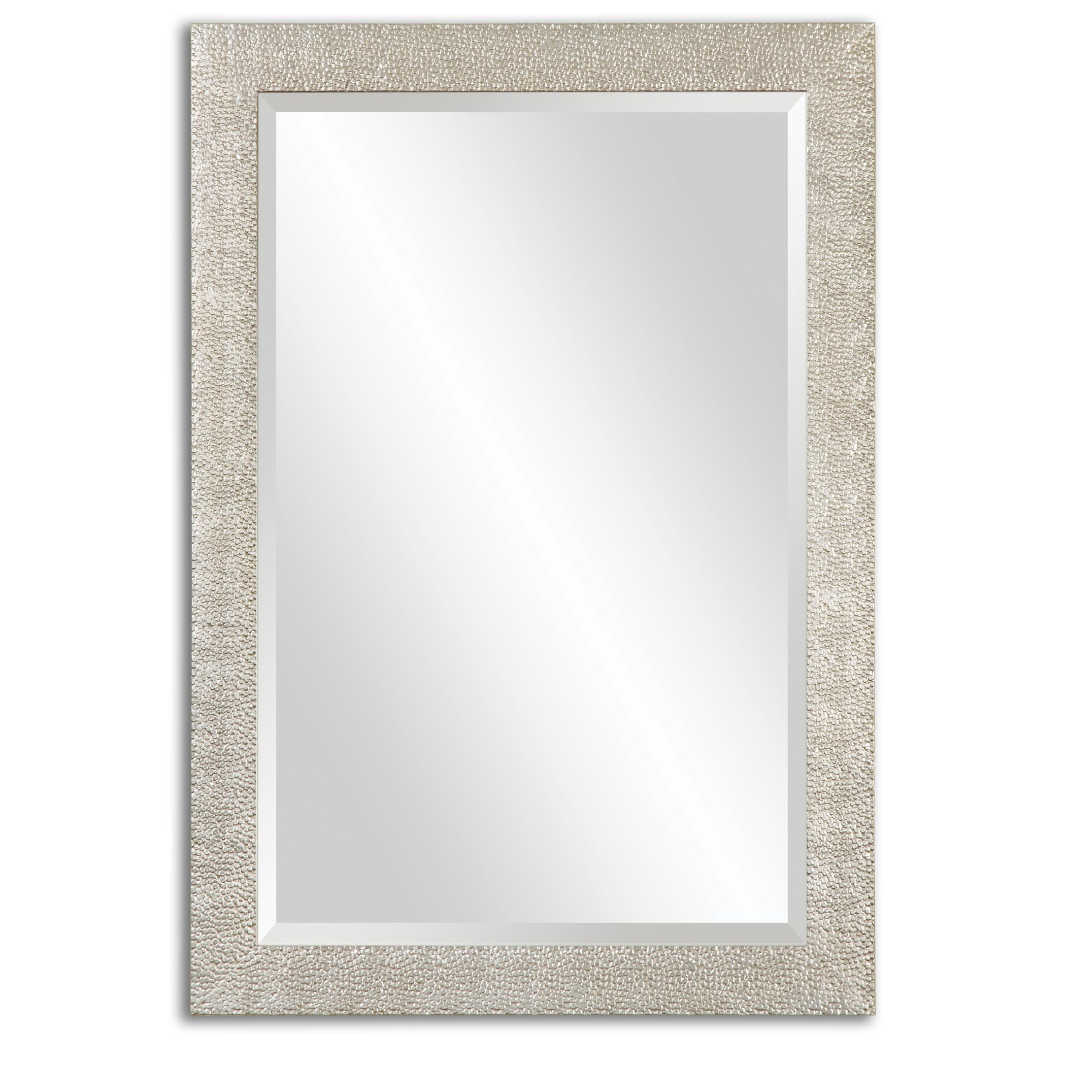 Uttermost Mirrors Porcius antiqued Silver Mirror - Item Number: 14495