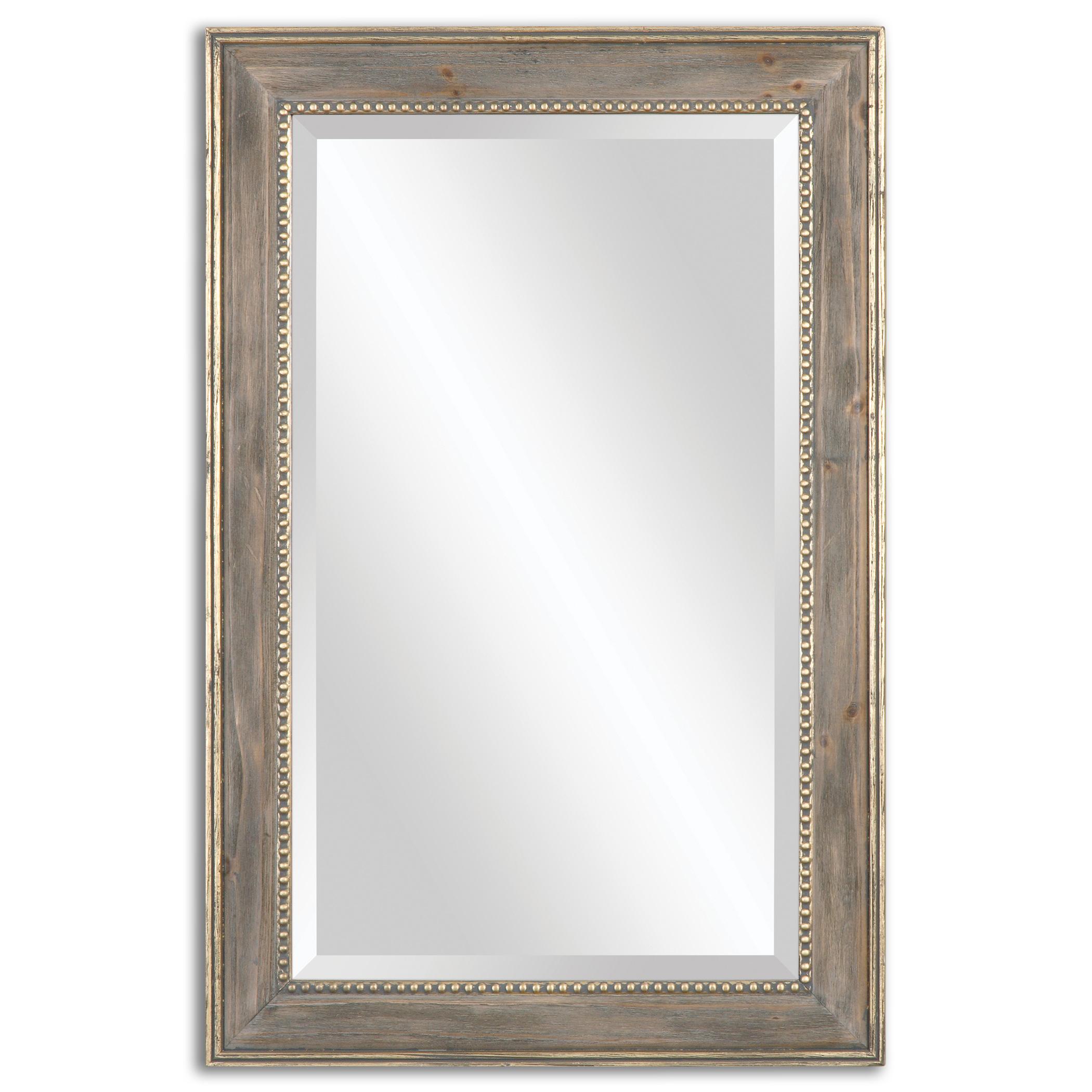 Uttermost Mirrors Quintina Pine Mirror - Item Number: 14496