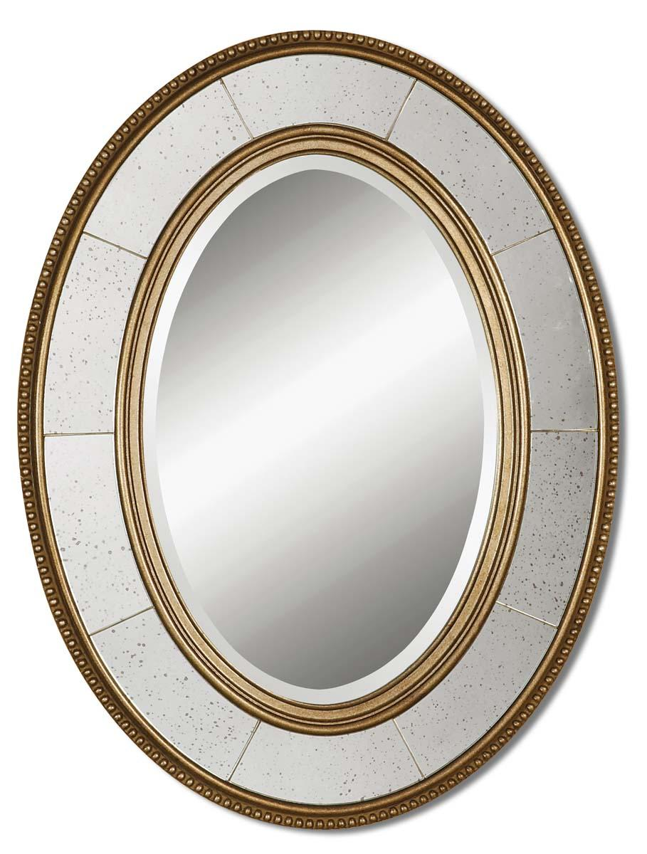 Uttermost Mirrors Lara Oval - Item Number: 14511 B