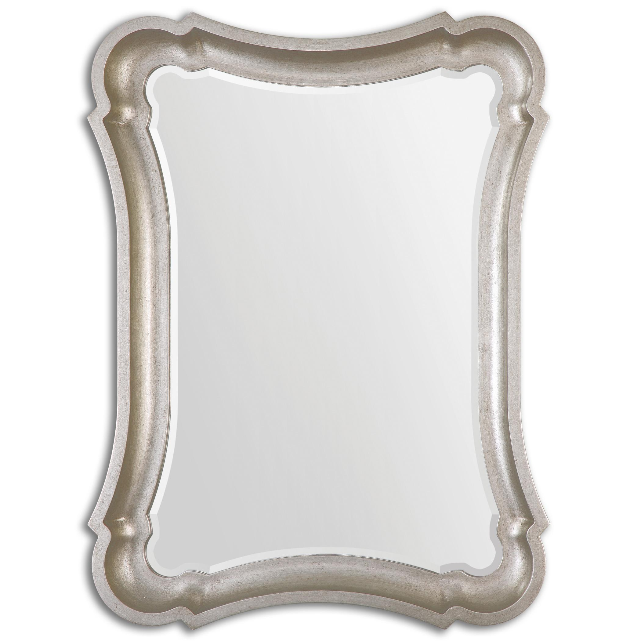 Uttermost Mirrors Anatolius Silver Leaf Mirror - Item Number: 14543