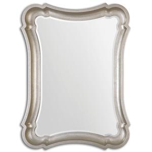 Uttermost Mirrors Anatolius Silver Leaf Mirror