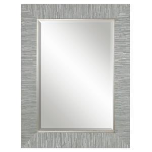 Uttermost Mirrors Belaya Gray Wood Mirror